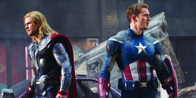 Thor e Capitão America