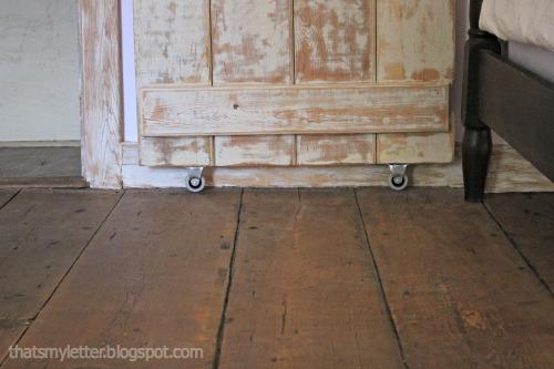 wheels on barn door