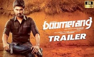 Boomerang Official Tamil Trailer   Atharvaa, Mega Akash   R Kannan   Radhan