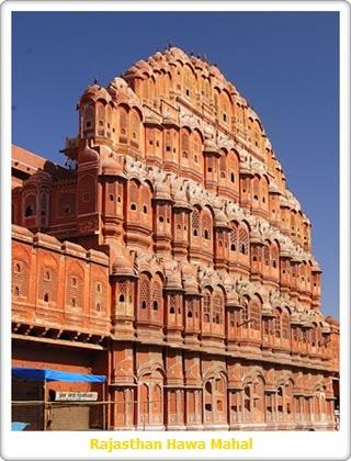 Jaipur Hawa Mahal in Rajasthan