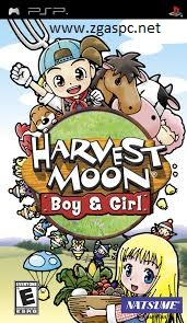 Free Download Harvest Moon Boy & Girl PSP ISO PC Games Untuk Komputer Full Version - ZGASPC