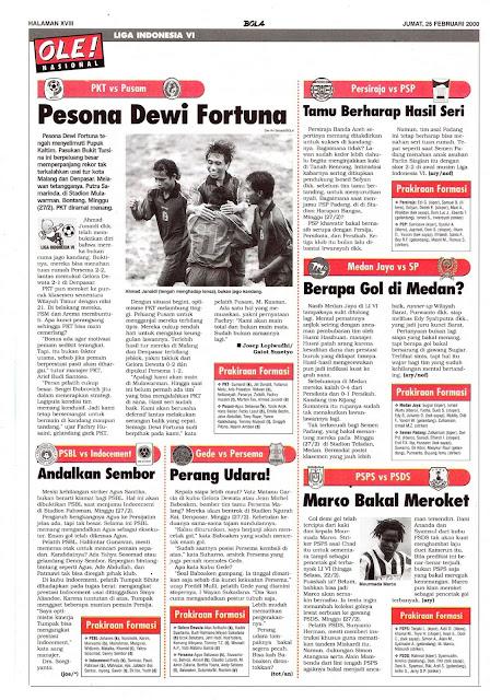PKT VS PUSAM PESONA DEWI FORTUNA