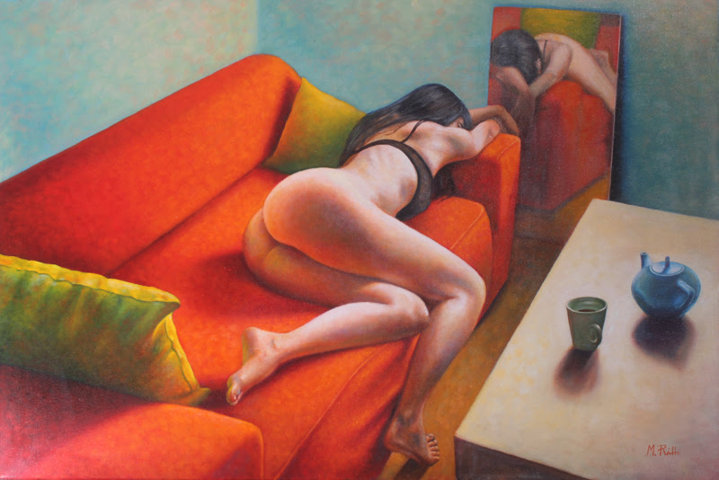 Figurative Paintings by Ráth Márton.