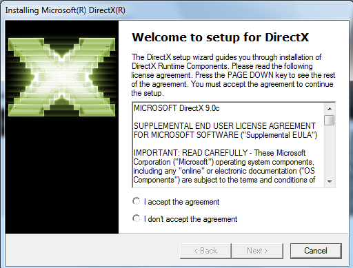 directx 9.0 complet