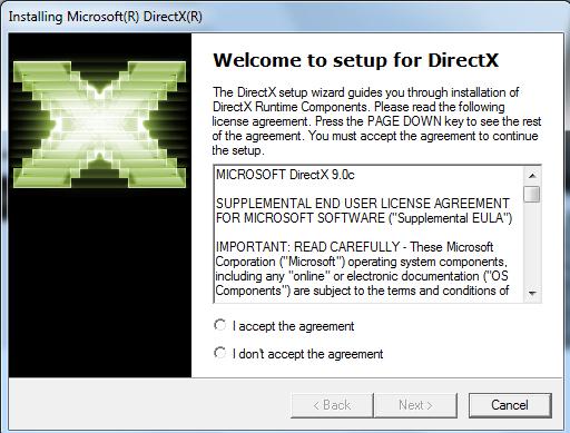 تحميل برنامج directx 9.0c ويندوز 8/10/7/xp لتشغيل الالعاب على ...