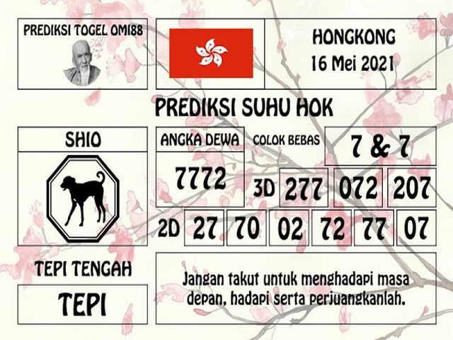syair hk hari ini 17 mei 2021