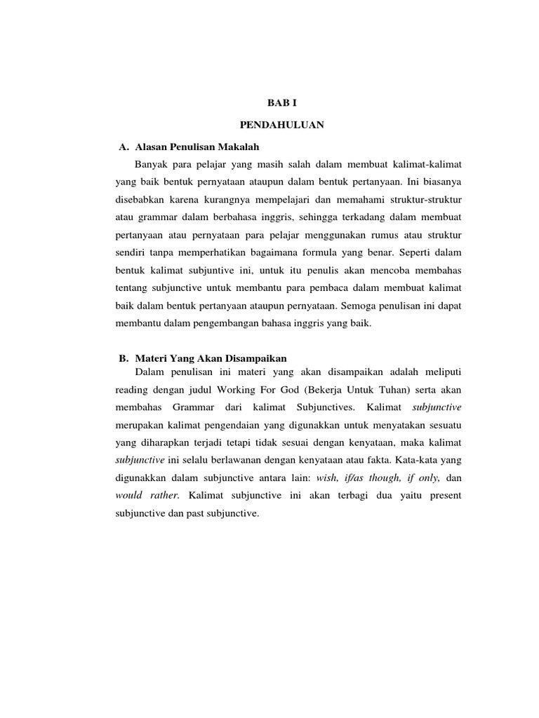 makalah dalam bahasa inggris - wood scribd indo