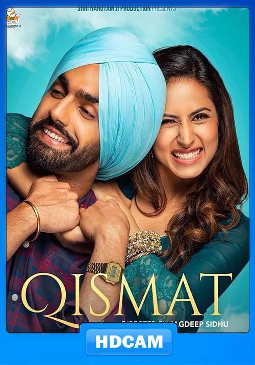 Qismat 2018 Punjabi 720p Pre-DVDRip x264   480p 300MB   100MB HEVC