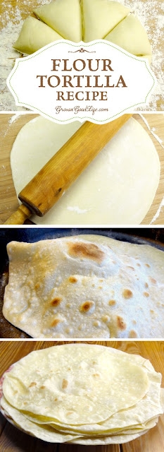 Homemade Floyr Tortilla Recipe