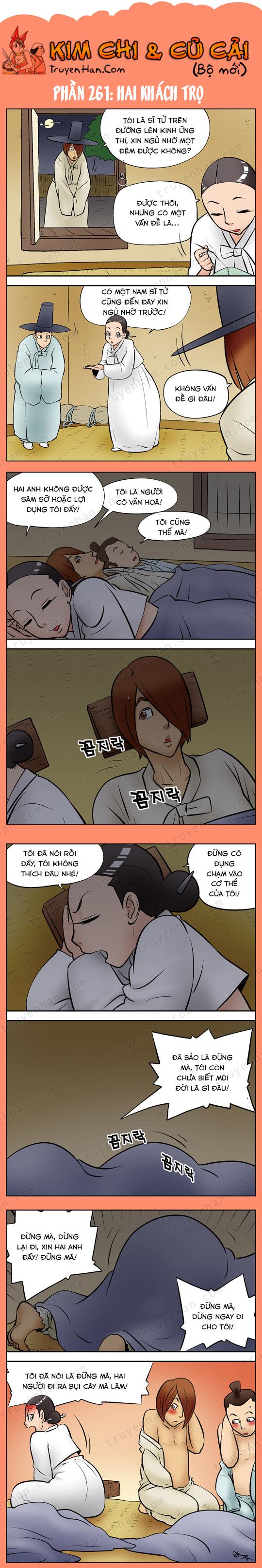 Kim Chi & Củ Cải (bộ mới) phần 261: Hai khách trọ