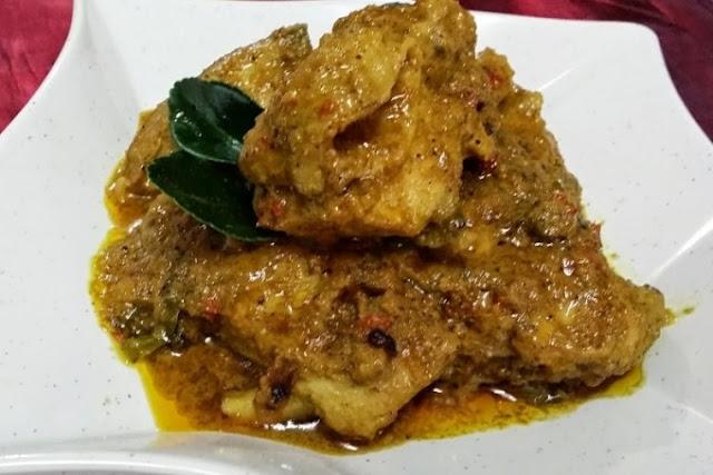 Resep Rendang Ayam tanpa Santan