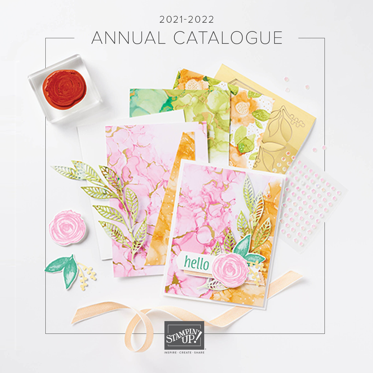 THE NEW ANNUAL CATALOGUE 2021-22 4 May to  2 May 2022