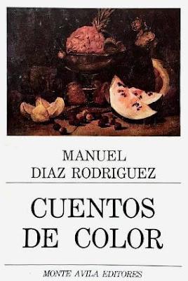 Carátula de Cuentos de Color (Monte Ávila Editores Latinoamericana - 1998) de Manuel Díaz Rodríguez