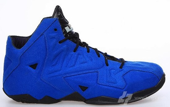 a8cf45fe77e ajordanxi Your  1 Source For Sneaker Release Dates  Nike LeBron 11 EXT  Suede QS Game Royal Game Royal-Black April 2014