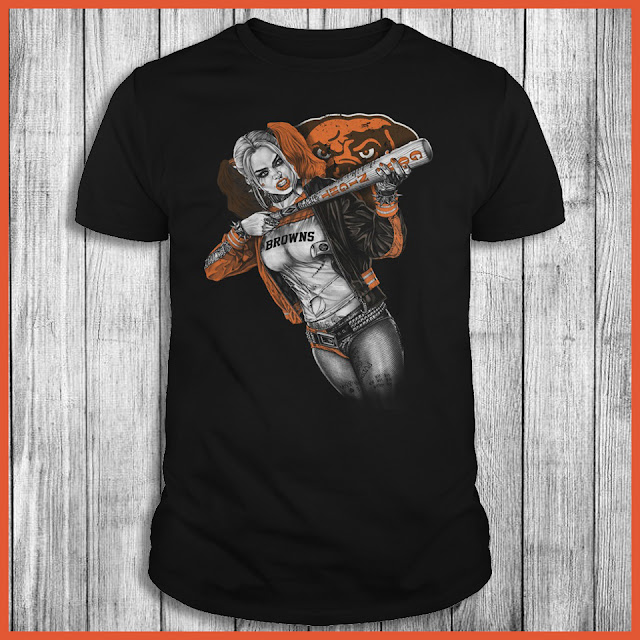 Cleveland Browns Harley Quinn T-Shirt