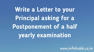 Letter and application format, application