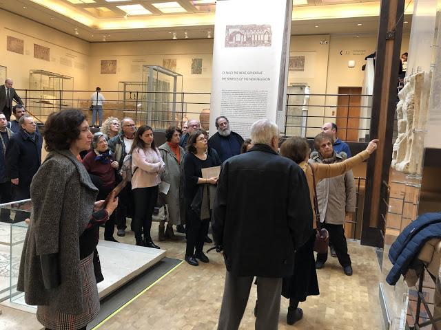 Το Βυζαντινό & Χριστιανικό Μουσείο της Αθήνας επισκέφθηκε ο Σύλλογος απανταχού Ναυπλιέων «Ο ΝΑΥΠΛΙΟΣ»