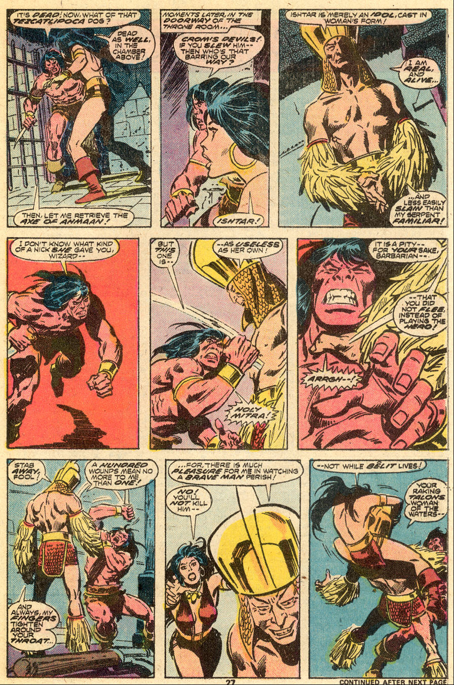 Conan the Barbarian (1970) Issue #65 #77 - English 16