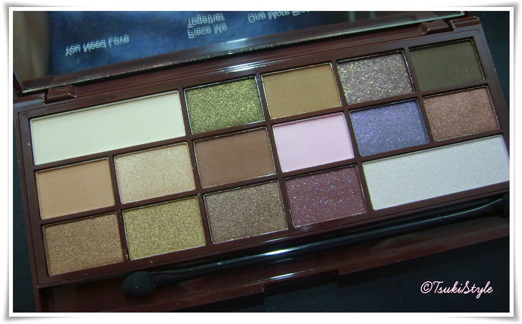 I heart chocolate, tsuki style makeup