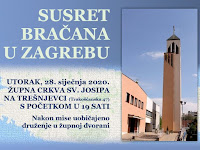 Susret Bračana Zagreb slike otok Brač Online