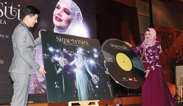 'Simetri Siti' Album Terbaru Siti Nurhaliza