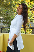 Kiran Chetwani in Denim and White Kurti  Exclusive 024.JPG
