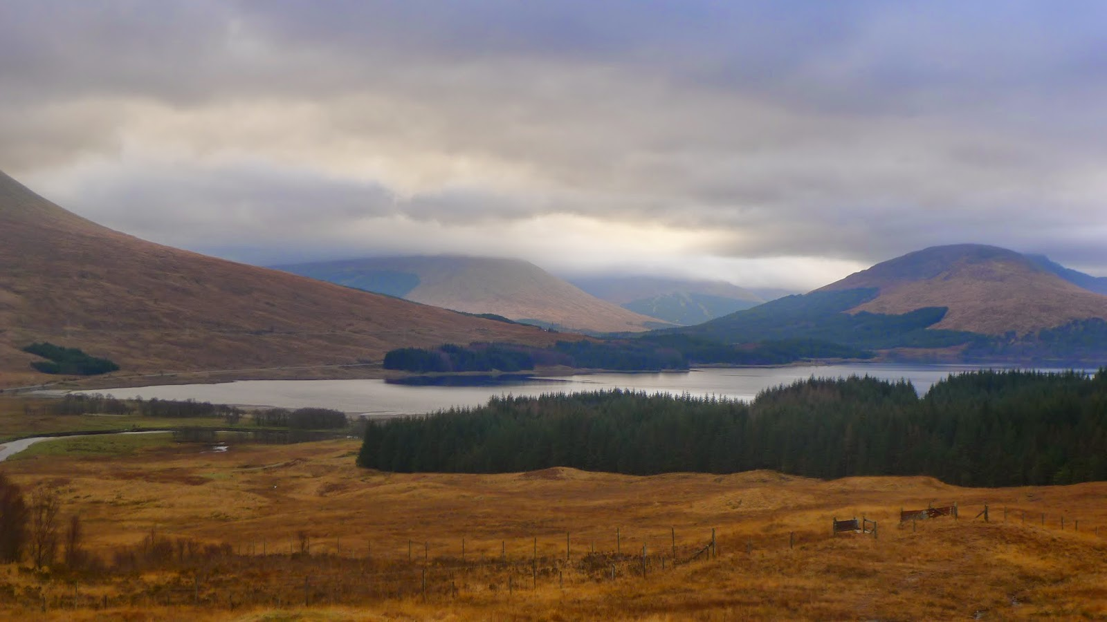 Loch Tulla, Argyll and Bute, 29 November 2014