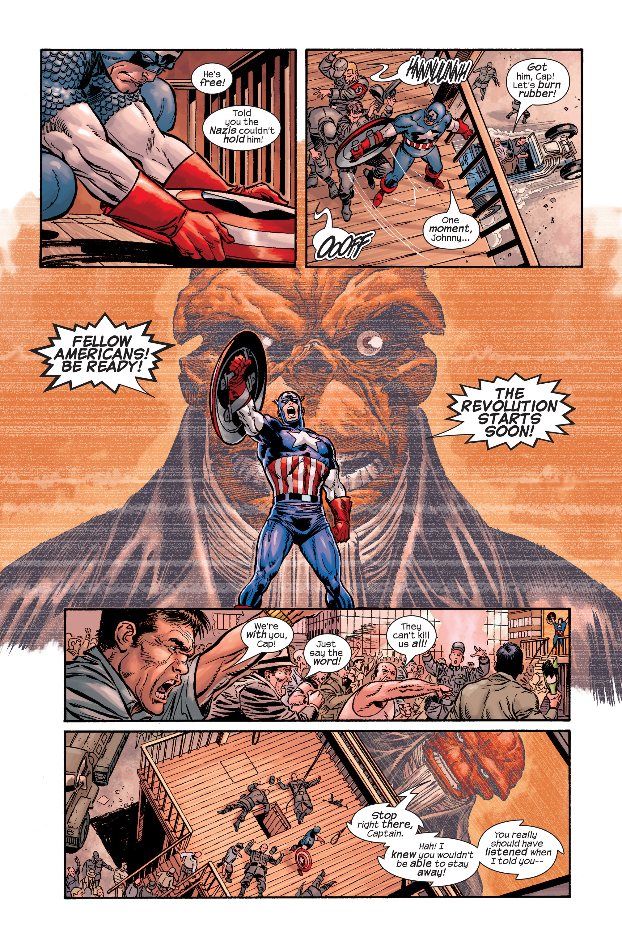 Captain America (2002) Issue #19 #20 - English 11