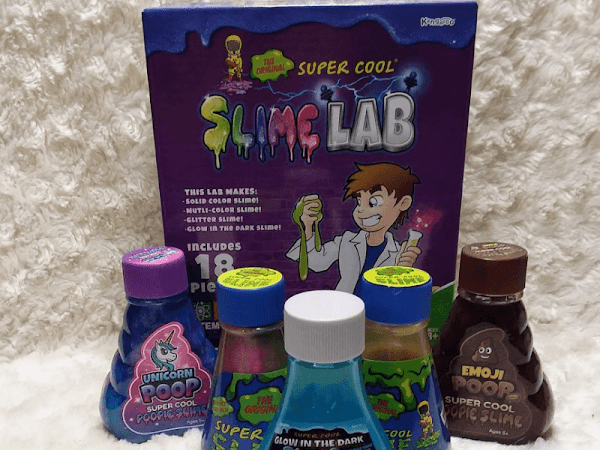The Original Super Cool Slime and Slime Lab make Great Gifts