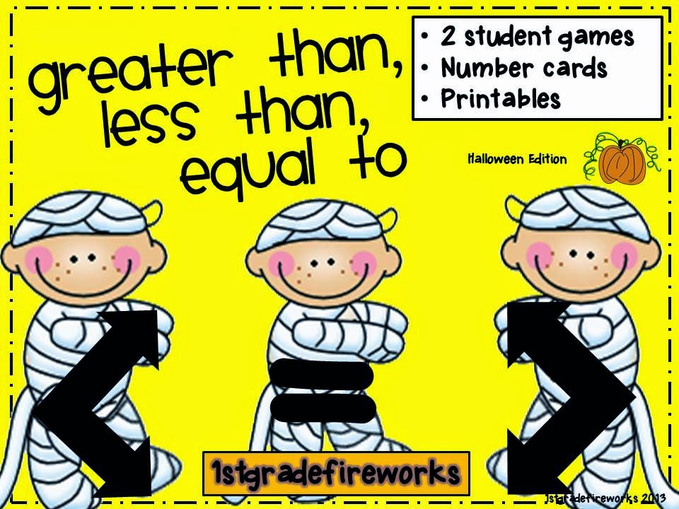 Greater Than, Less Than, Equal to Math