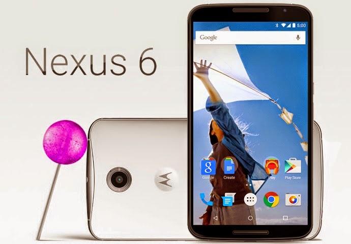 Phablet Google Nexus 6 Terbaru Sudah Tersedia di 21 Negara