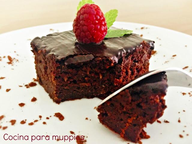 """alt=""""brownie de espelta con calabacín"""""""