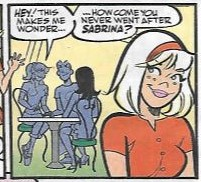 is archie dating betty or veronica