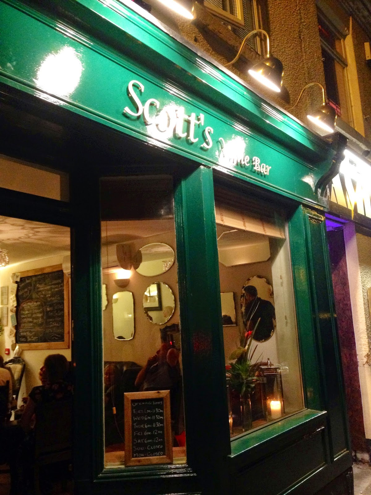 scotts wine bar in quorn