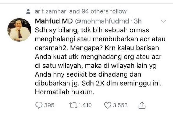 Mahfud MD Tak Sebut Inisial, Mengapa Ketum GP Ansor 'Meradang'?