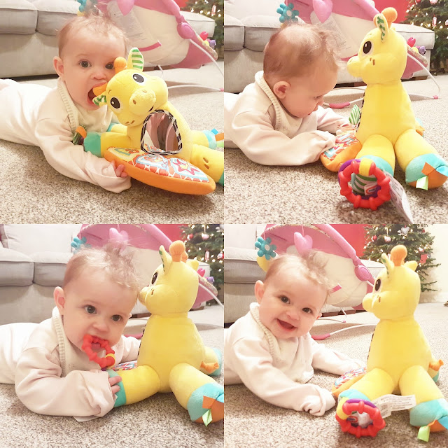 Tummy Time With the Tummy Tunes Giraffe from Little Tikes (Plus Giveaway!)