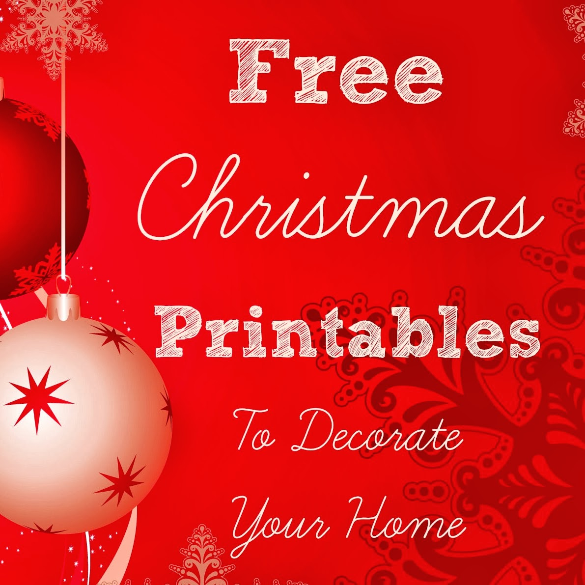 Some Of The Best Things In Life Are Mistakes Free Christmas Printables To Decorate Your Home