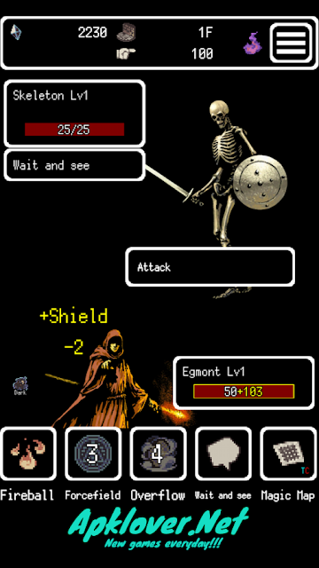 Buriedbornes Hardcore RPG MOD APK unlimited money