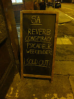 [Live Report] The Reverb Conspiracy @ The Shacklewell Arms, London 10-11/11/2012