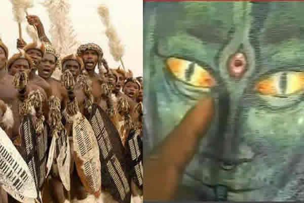 Antiguos relatos de la tribuafricana Zulú mencionan que seres extraterrestres a los que llamaron los Chitauri llegaron a la Tierra procedentes del interior de la Luna, la cual podría ser una nave espacial utilizada para observar y controlarnos.