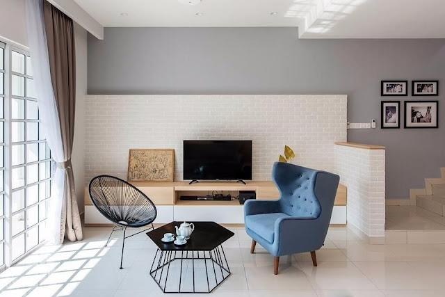 6 Teknik Penggunaan Warna Untuk Hiasan Dalaman Rumah