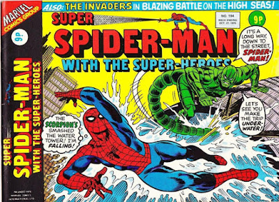 Super Spider-Man with the Super-Heroes #194, the Scorpion