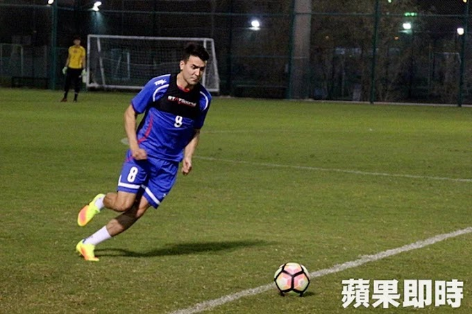 Tim Chow removed from Taiwan squad