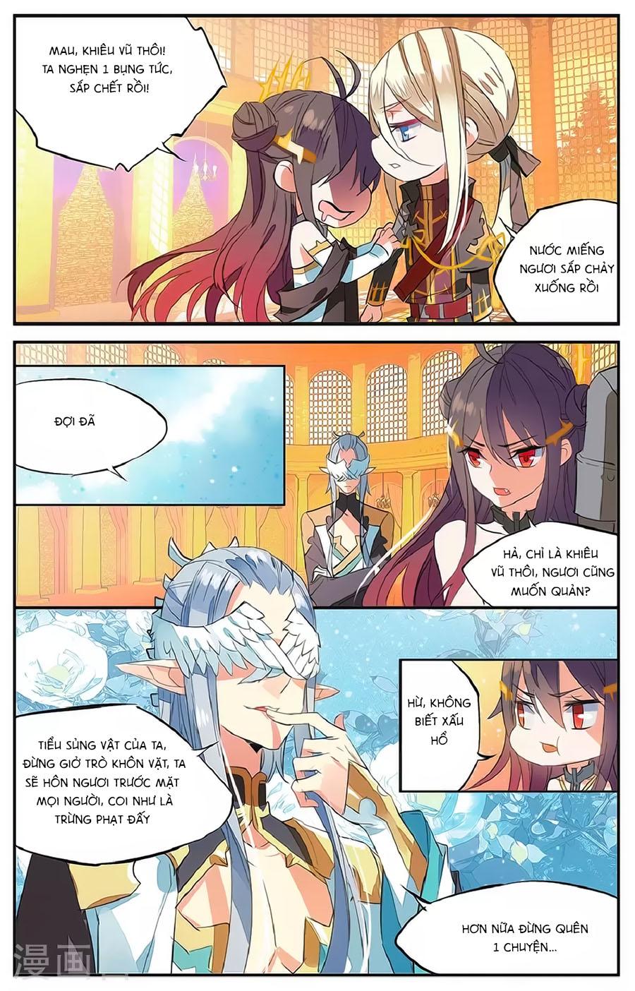 Nữ Nhân Dũng Cảm chap 61 - Trang 9