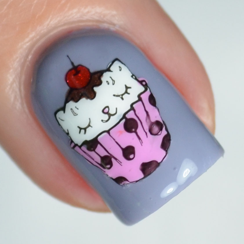 Polished Lifting: Cupcake Kitten feat. Bliss Polish & Born Pretty Store