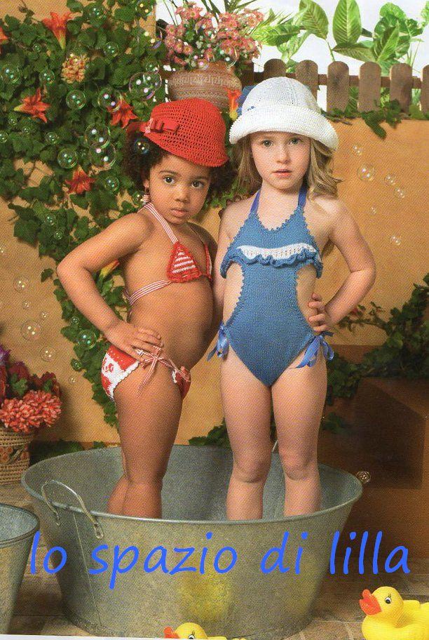 Lo Spazio Di Lilla Pronte Con Ferri Ed Uncinetto Bikini E Trikini