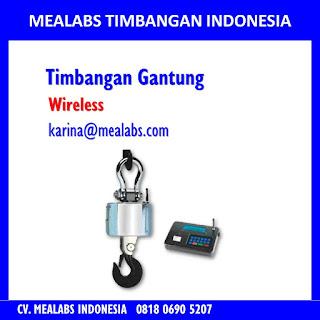 Jual Timbangan Gantung Atau Crane Scale dengan wireless mealabs timbangan indonesia