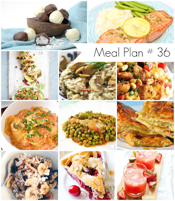 Weekly meal plan loaded with healthy and delicious recipes