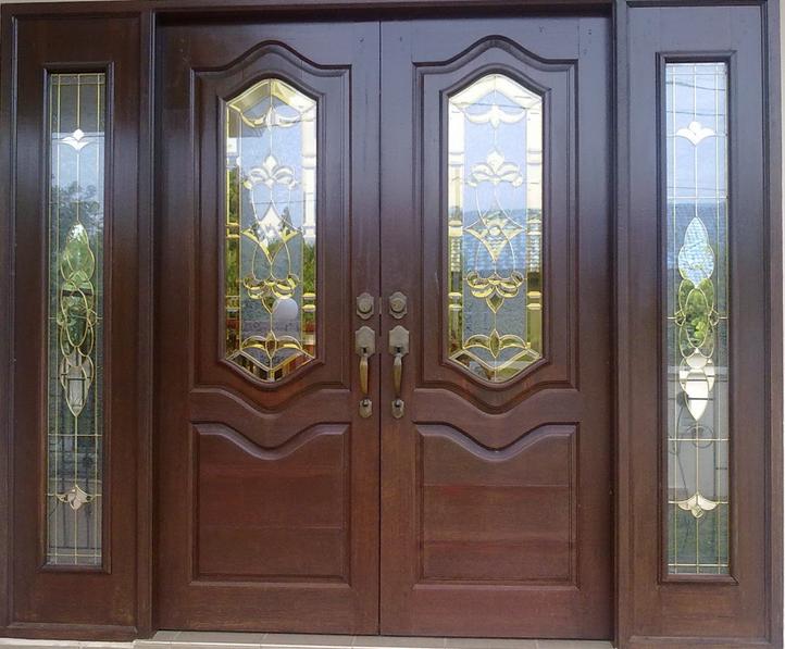 Model Pintu Rumah Terbaru Contoh Minimalis Depan Warna Cat