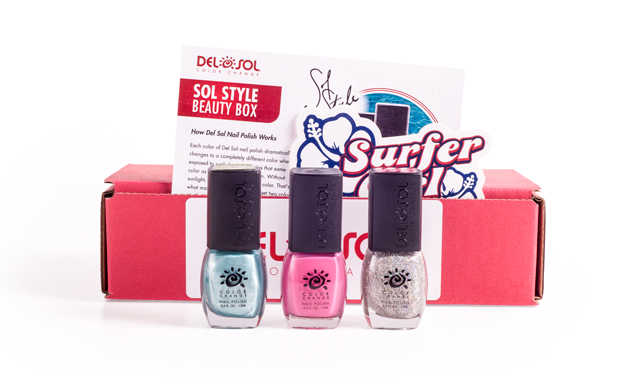 Mail4rosey Del Sol Nail Polish Monthly Subscription Nail
